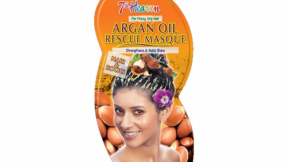 Mascarilla para el cabello con aceite de argán