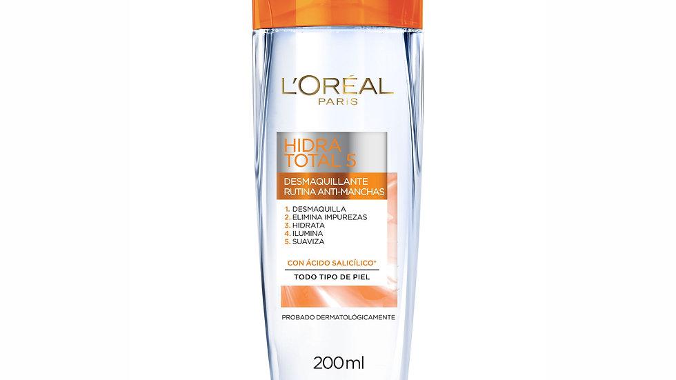Desmaquillante Rutina Anti-manchas Hidra Total 5 L'Oréal Paris