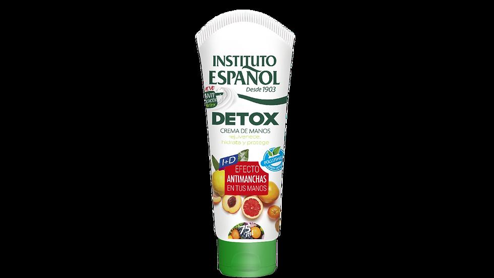 Instituto Español - Crema de manos Detox