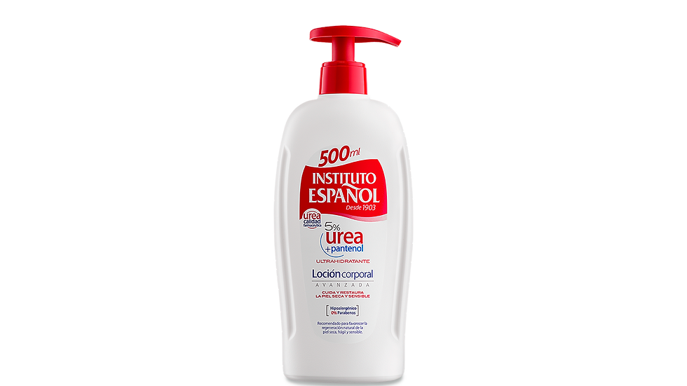 Instituto Español - Loción Urea con Pantenol 500ml