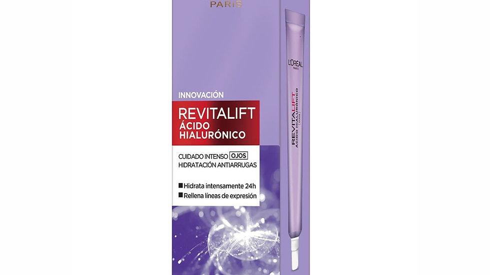 Revitalift Ácido Hialurónico Crema Para Contorno De Ojos