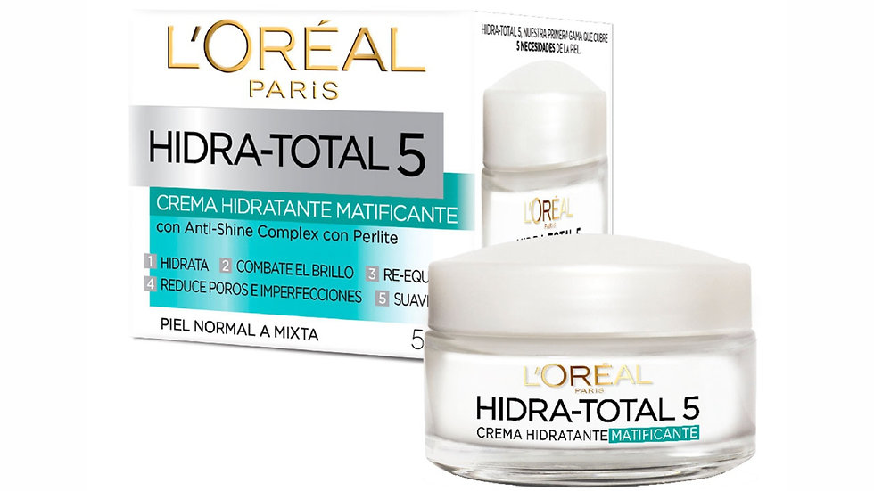 Hidra-Total 5 Crema Humectante Matificante