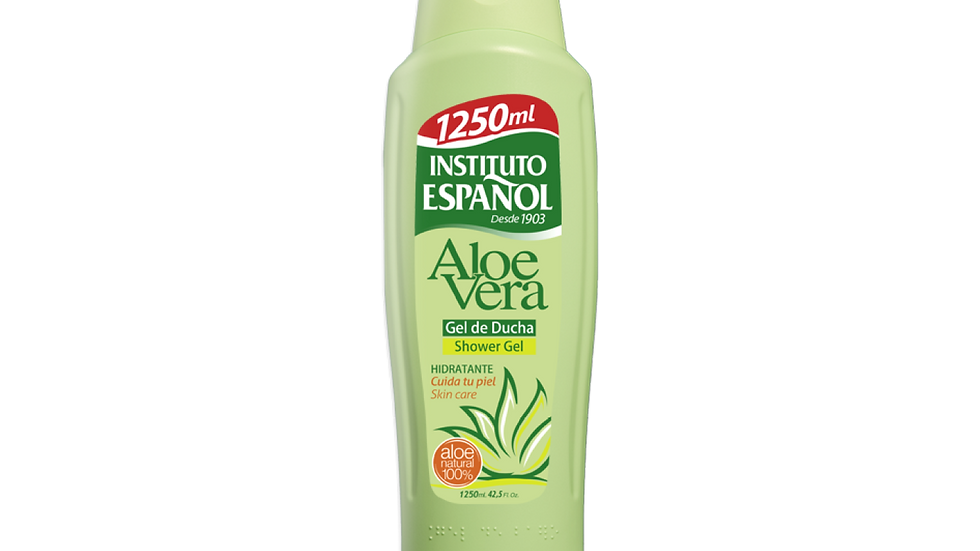 Instituto Español - Gel de Baño Aloe Vera 1250ml