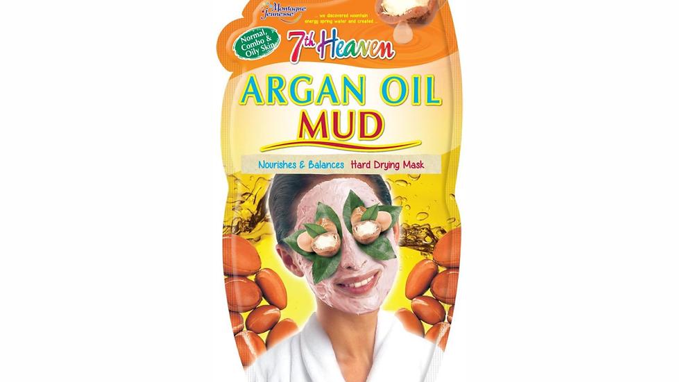 Mascarilla facial de Aceite de Argán