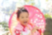 七五三撮影。やっぱり本当の笑顔が一番!#七五三 #女の子 #神社 #出張撮影 #