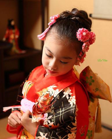 七五三古民家撮影ご紹介_着物レンタル、着付け、撮影の3点セットでの鎌倉古民家撮影