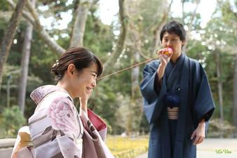 Lovers Photo・糸電話での内緒話_#恋人 #カップル #二人 #結婚式
