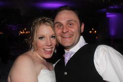 Colessio bride and groom