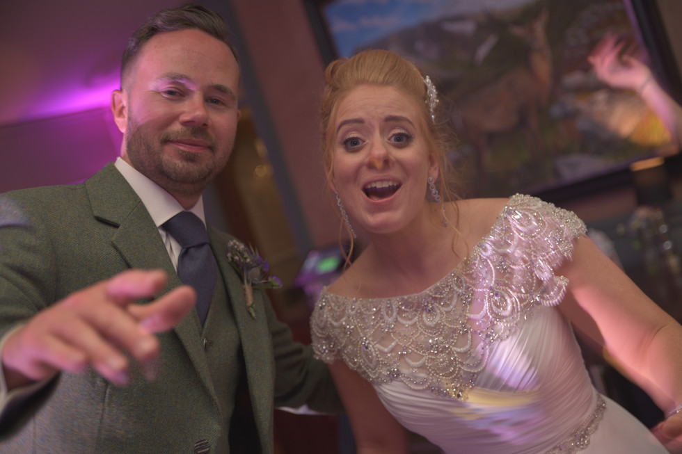 Newlyweds - Muckrach Country House