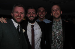 Friends of the groom
