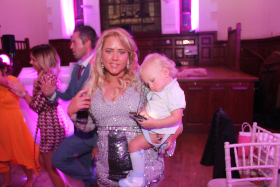 Burgh hall wedding DJ