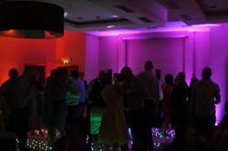Wedding mood lighting Ayrshire
