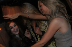 Dancing at the Virginia Gin Bar