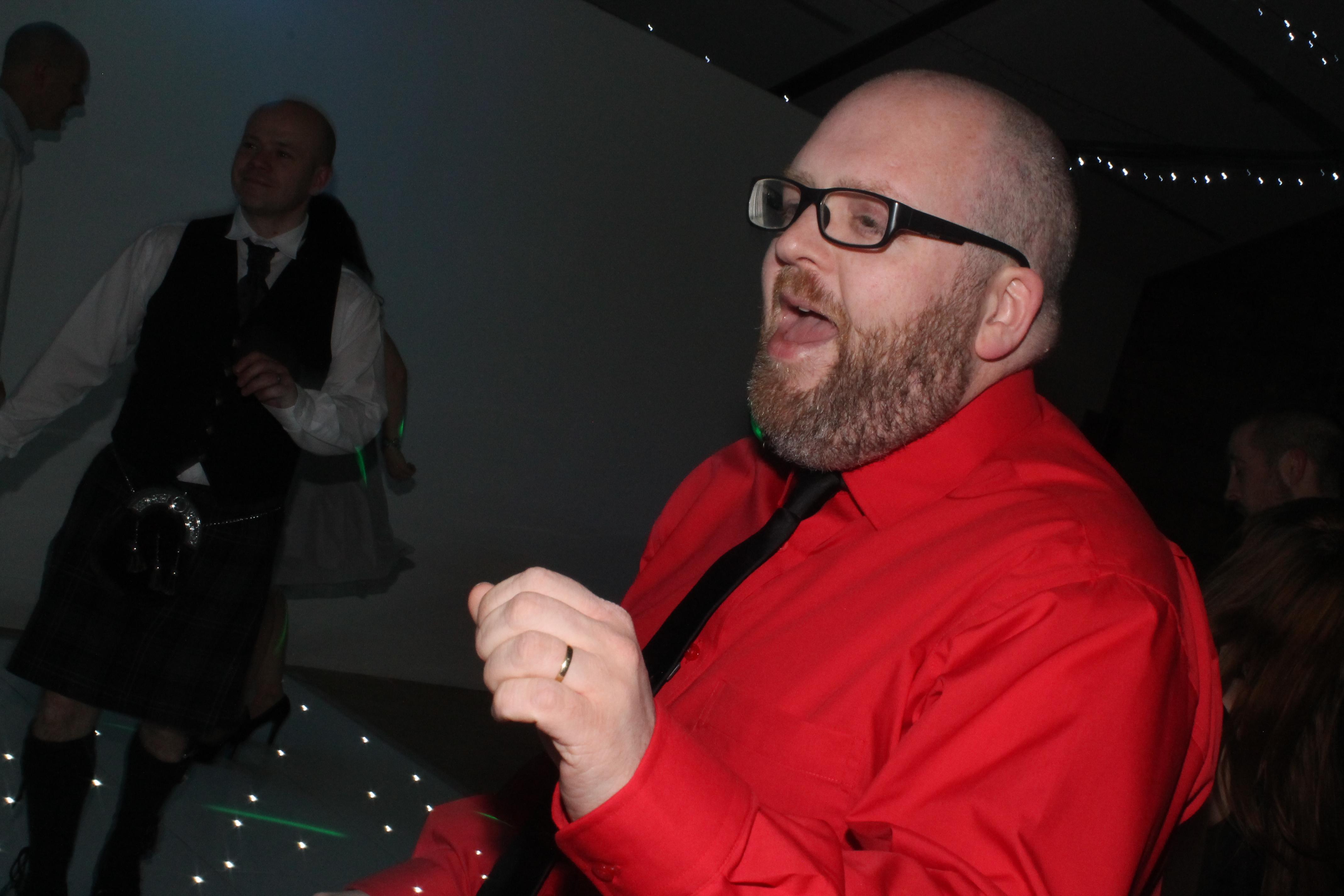 Glasgow wedding DJ