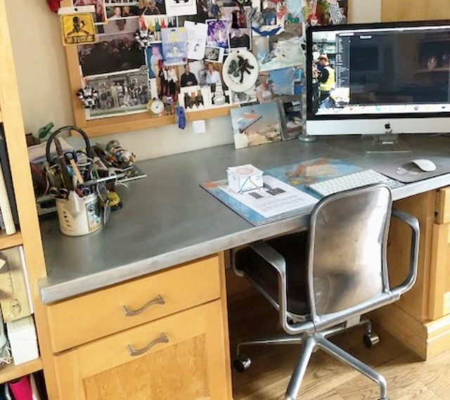 Zinc desk