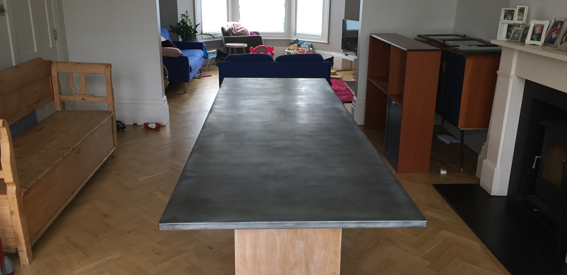Large Zinc Table