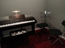 Piano, violin, trumpet, sax, flute