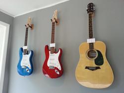 Guitars, guitars, guitars...