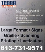braille, business cards, grade 1, grade 2, custom, translation, Ottawa, Canada, North America
