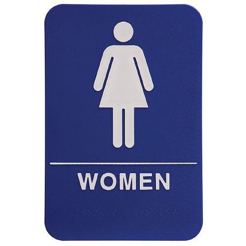 """9""""X6"""" Women's Restroom"""
