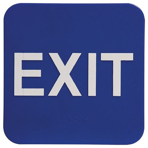 """5""""X3"""" Exit Signage"""