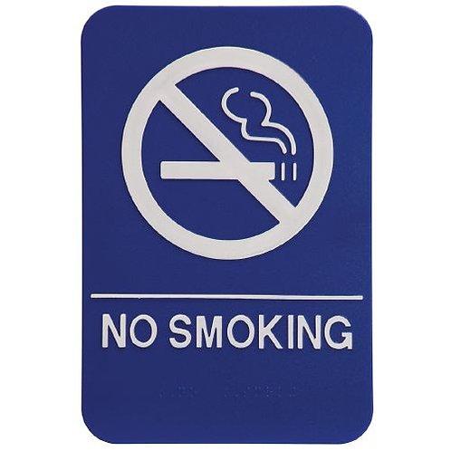 """9""""x6"""" No Smoking"""