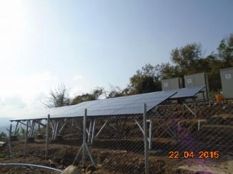 ミャンマーのTwee Mee に太陽光発電設備を設置しました
