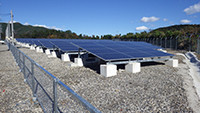 太陽電池モジュールを設置しました(三重県御浜町)