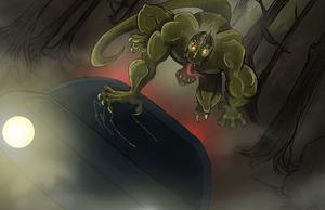 Lizard of Scape Ore Swamp