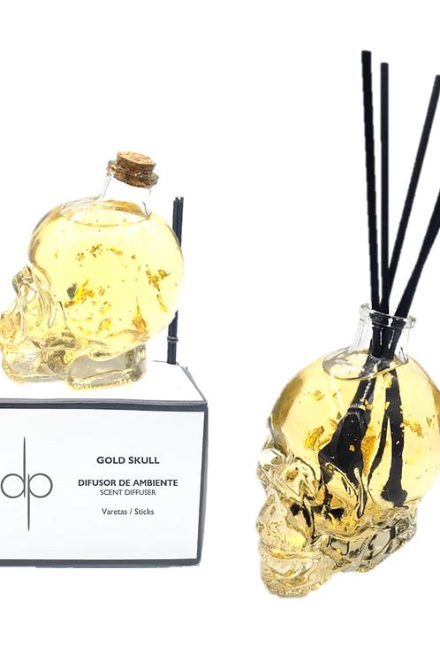 Difusor de Ambiente - Gold Skull 450 ml