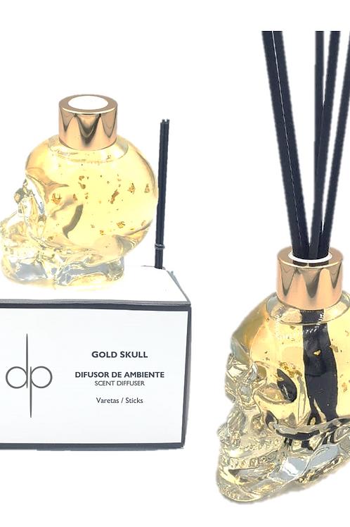 Difusor de Ambiente - Gold Skull 200 ml