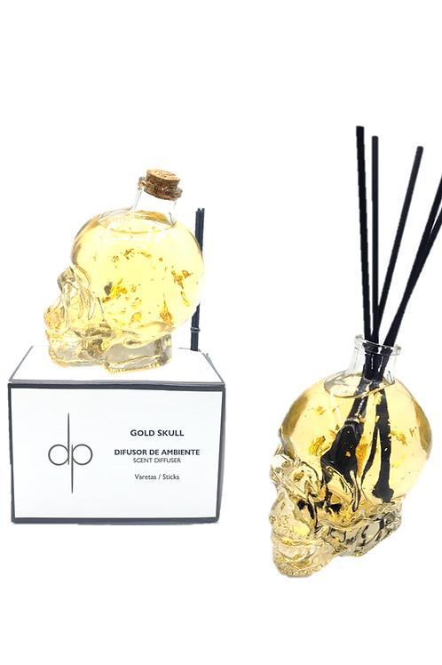 Difusor de Ambiente - Gold Skull 100 ml