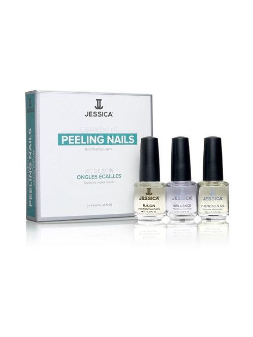 Jessica Nail Solution Kits - Peeling nails