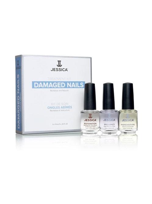 Jessica Nail Solution Kits - Damaged nails