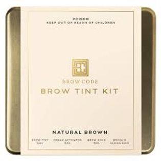 Brow Code Tint - Natural brown or light brown