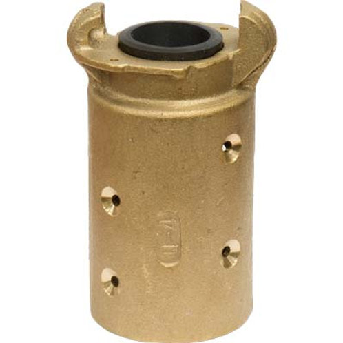 """QUICK COUPLING, BRASS, 1-1/2"""", 175 PSI MAX"""