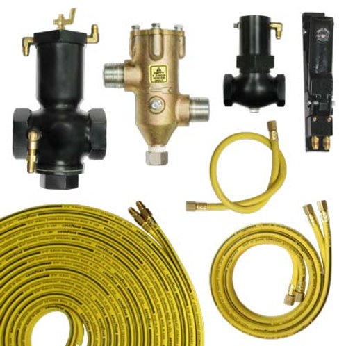 """REMOTE CONTROL SYSTEM, 1-1/4"""" OR 1-1/2"""" W/50FT TWINLINE ASSEMBLY"""