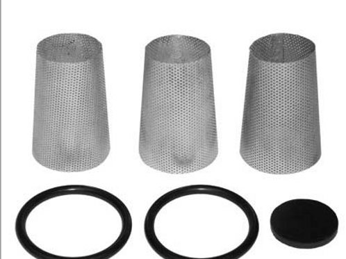"ABRASIVE TRAP, 1"", SERVICE KIT, INCLUDES (3) #4, (1) #5 & (2) #8"