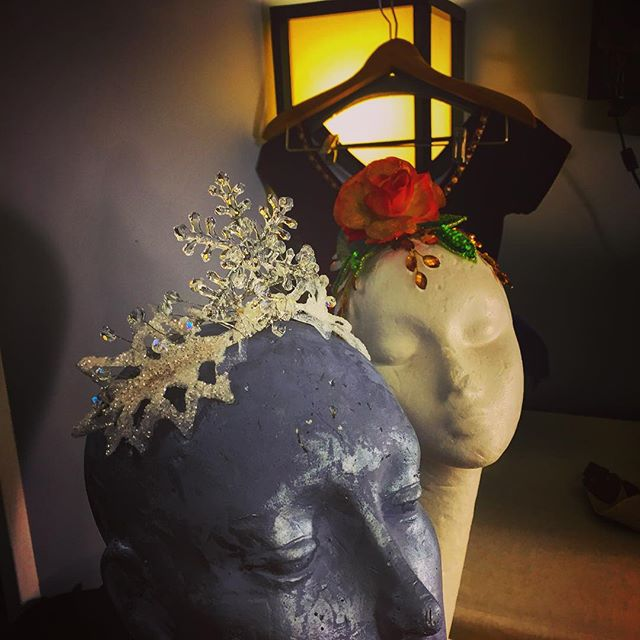 Nutcracker headpieces for School of the Arts _ National Museum of Dance