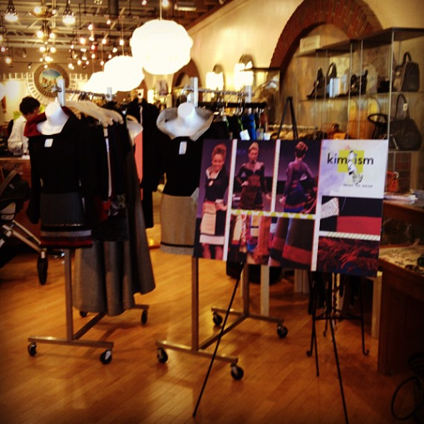 Kimism collection live at #Circles#Stuyvesant Plaza#KimVanyo