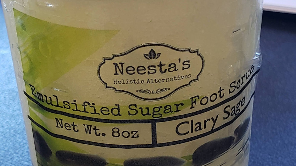 Emulsified Sugar Foot Scrub