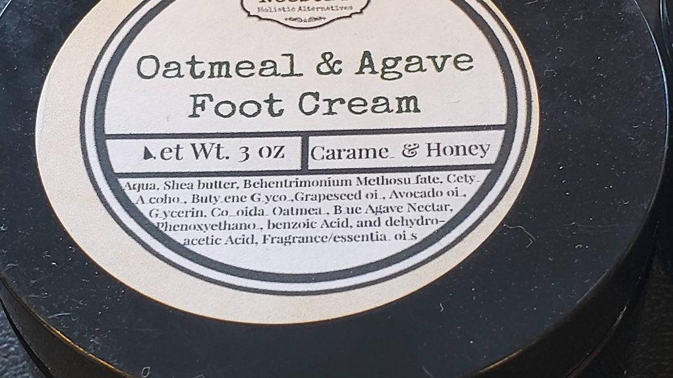 Oatmeal & Agave Foot Cream