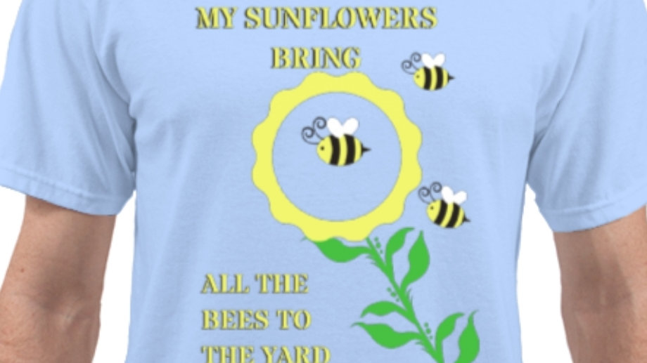 Sunflowers & Bees Tee