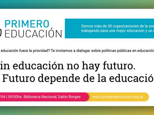 Primero Educación - Documento Políticas Públicas en Educación 2019