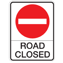 RSHI-RB92 Road Closed Sign
