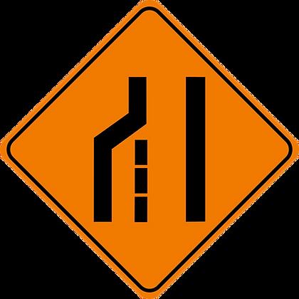 RSDG-TC103L Left Lane Closed