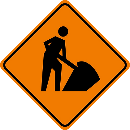 RSDG-TC102B Road Work Ahead