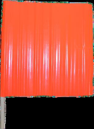 Vinyl Orange Flag