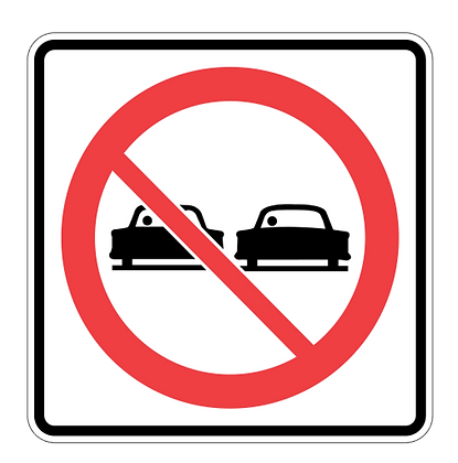 RSHI-RB31 Do Not Pass Sign