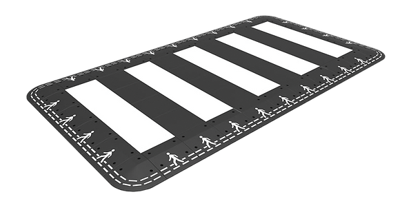 Pedestrian Crossing Hump 7x4